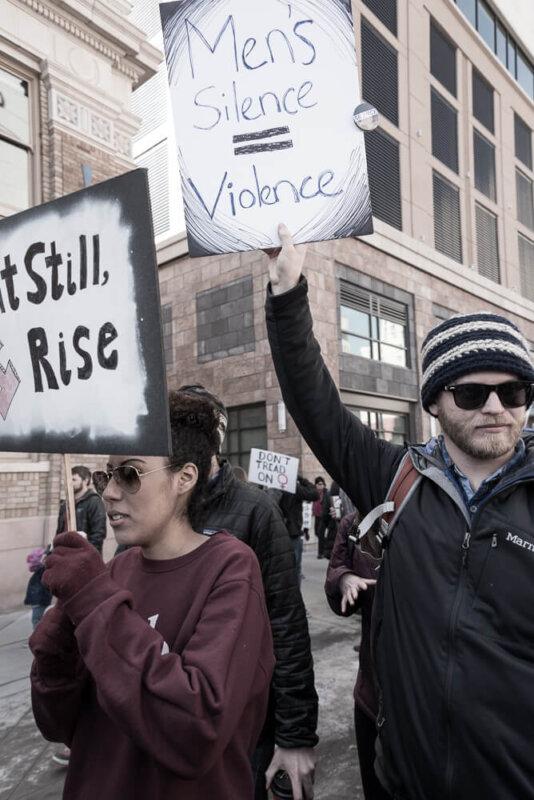 Mens Silence = Violence
