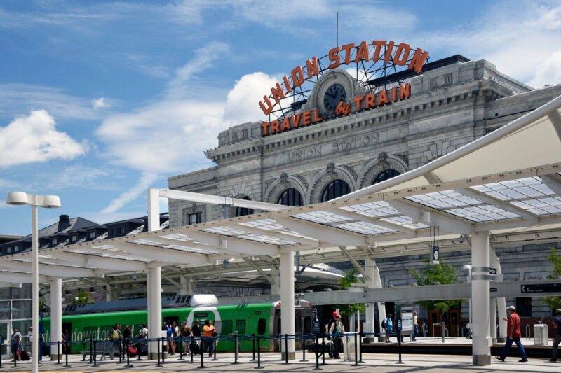 Union Station - Green Train