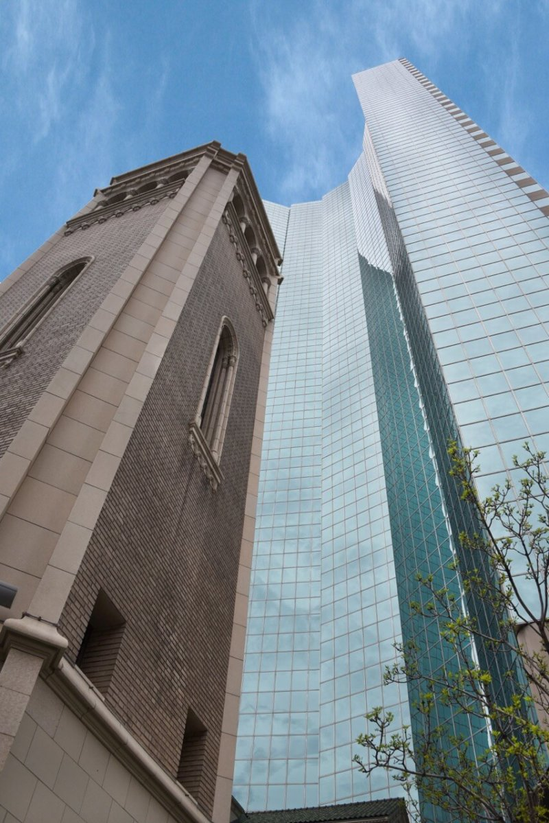 Old and New - Holy Ghost Tower