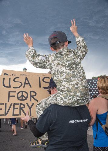 Denver Peace Rally-81