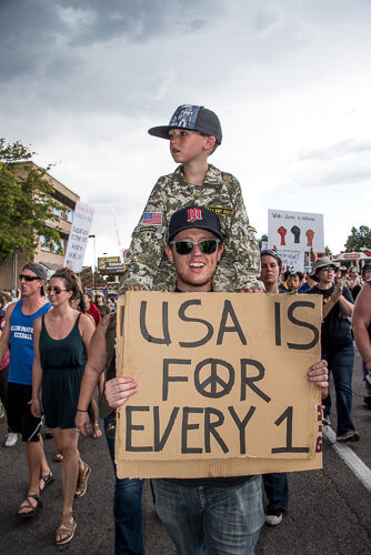 Denver Peace Rally-91