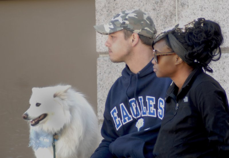 MLK Marade 2014 - White Dog
